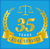 35 Years of Legal Service